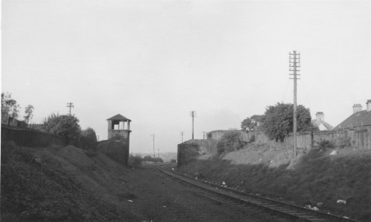 1960s Auchenraith Junction from A Rochead