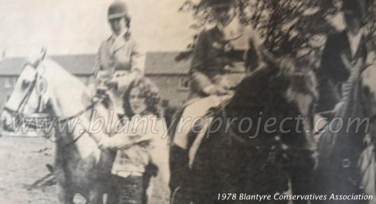 1978 Blantyre Conservatives Association horsriders wm