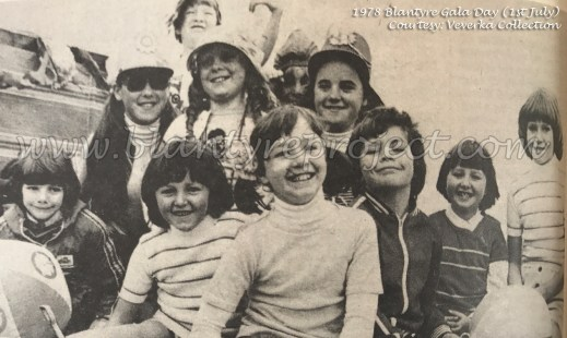 1978 Blantyre Gala Day 1st July wm