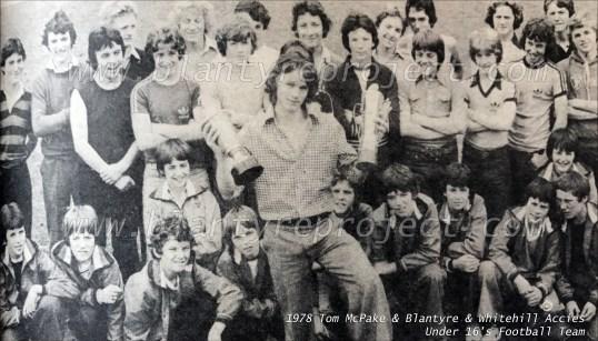 1978 Tom McPake & Blantyre Accies wm