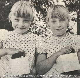 1978 Mary Rose & Janice McGranaghan