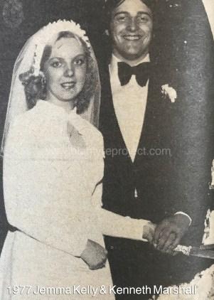 1977 Jemma Kelly & kenneth marshall