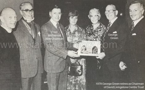 1978 George Green retires DLT wm