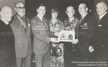 1978 George Green retires from DLC