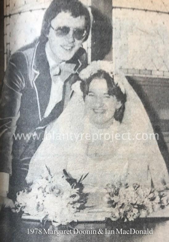 1978 Margaret Doonin & Ian MacDonald wm