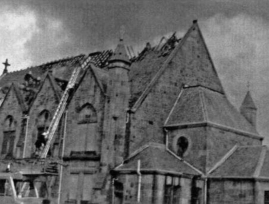 1979 Stonefield Church fire