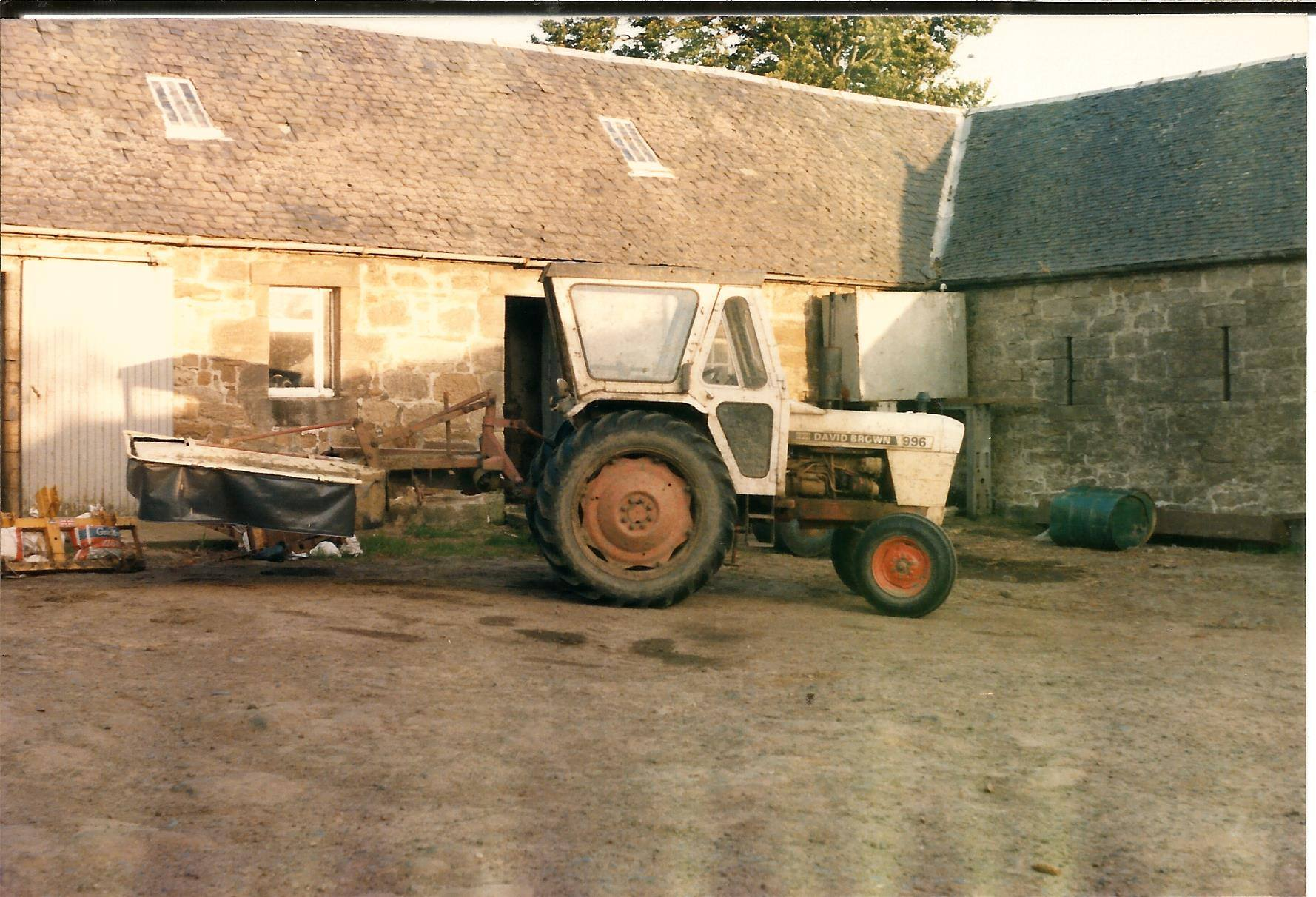 1980s Calderside Farm, from Jim Cochrane