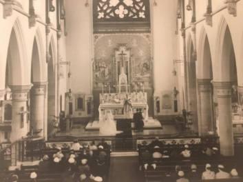 1957 Doyle - Mullen Wedding at St Josephs Church