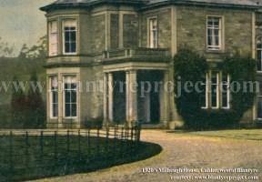 1920's Milheugh House
