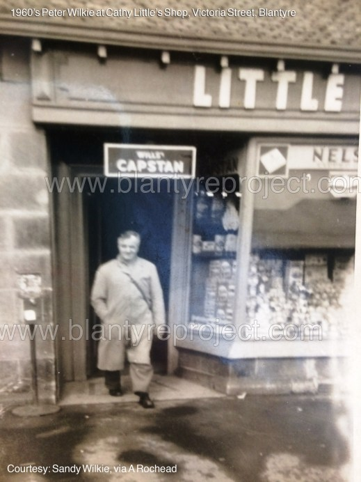 1960s Peter Wilkie at Cathy Little's shop wm