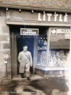 1960s Peter Wilkie at Cathy Little's Shop Victoria St