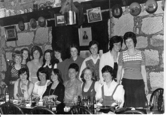 1974 Blantyre mothers at Hasties by Maureen Friery Moran
