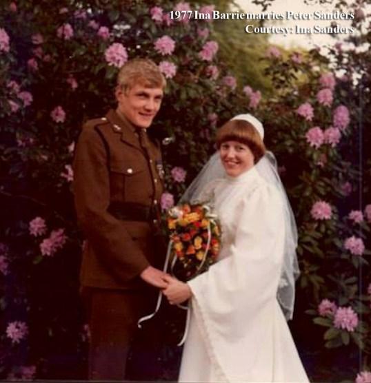 1977 Ina Barrie & Peter Sanders wm