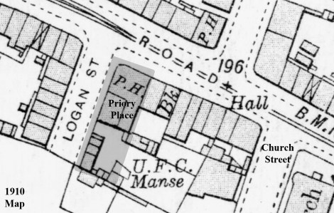Priory Place zoned