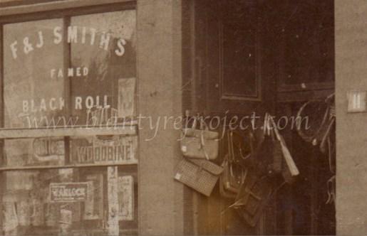 1921 Benhams Shop at 11 Stonefield Rd