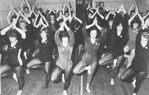 1978 Yoga at Community Centre