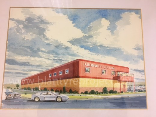 1989 Painting of Factory wm