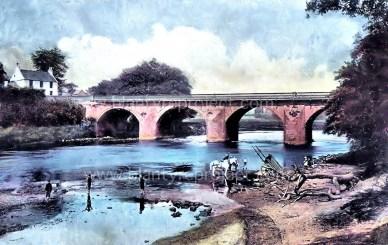 Bothwell Bridge at Blantyres boundary