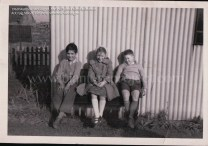 1960 Matthew McGuigan, Ann Duffy and John Haliburton at Craig St