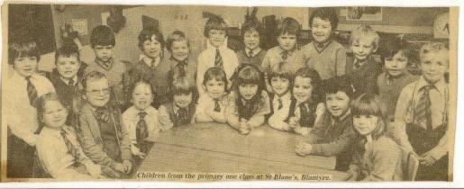 1985 St Blanes Primary School