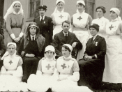 WW1 Medical Staff at Caldergrove