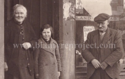 1935 Malcolm Dow at 9 Broompark Rd Causeystanes Dairy wm
