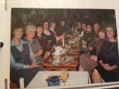 1984 Hasties night out Blantyre High Dinner Ladies