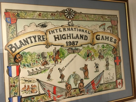 1987 Highland Games poster