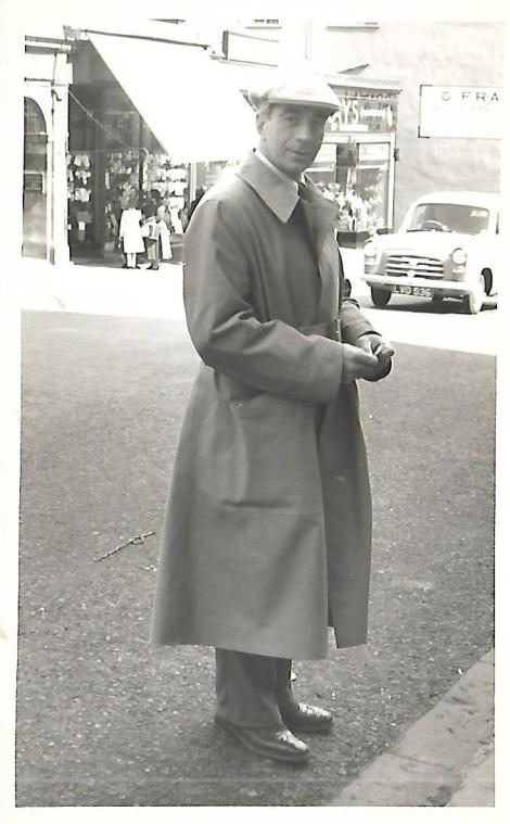 6 - Bobby Brown, looking dapper in Quarry Street Hamilton