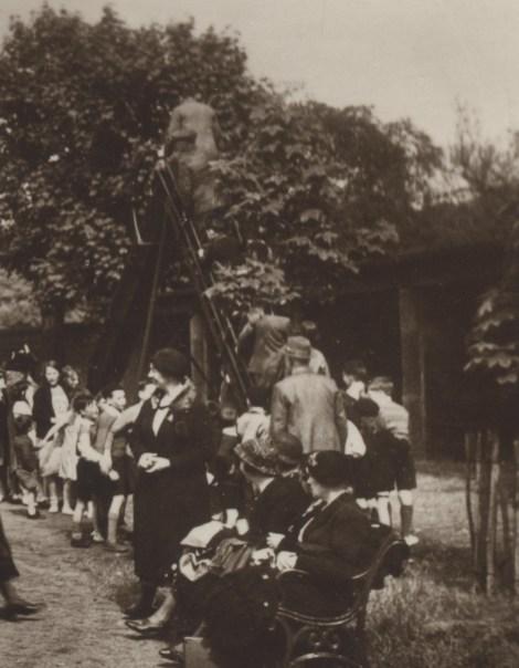 1930s men on shute