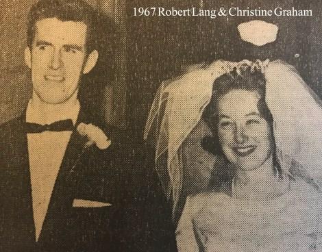 1967 Robert Lang & christine Graham wm