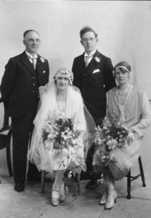 1927 John Reid & Agnes Reid Duncan (with William Reid & Christina Duncan)