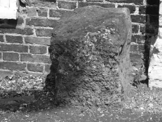 Bridge House right stone, Thetford