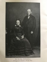 1860s Mr McSkimming (teacher) & wife