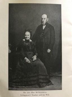 1860s Mr McSkimming (teacher) & wife
