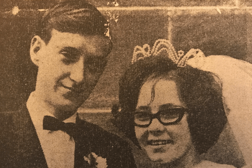 1967 Sandra Lees & Robert Black