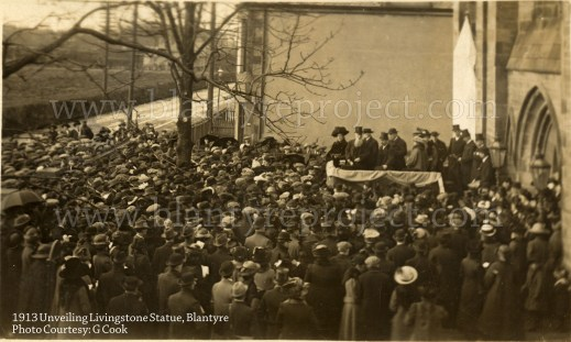 1913 15th March Livingstone Statue unveiling wm