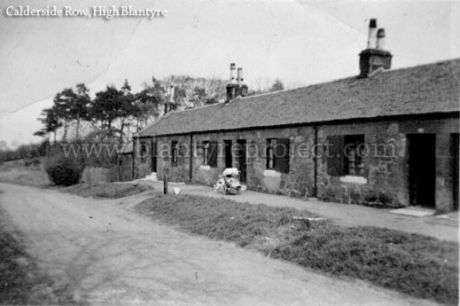 1950s Row housing Blantyre wm