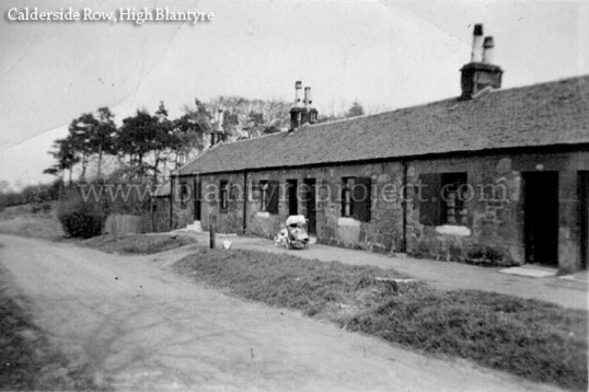 1950s Row housing Blantyre wm