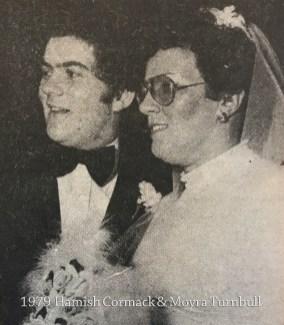 1979 Hamish Cormack & Moyra Turnbull