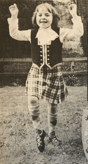 1979 Kirsty McIntosh highland dancing