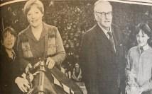 1979 Agnes Prentice & Alex Davies retire Livingstone Primary
