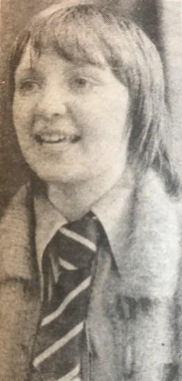 1979 Margaret McCutcheon, Blantyre HIgh