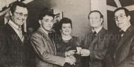 1979 Steven Fletcher & parents Blantyre Eng Co