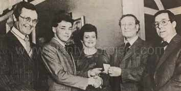 1979 Steven Fletcher & parents Blantyre Eng Co