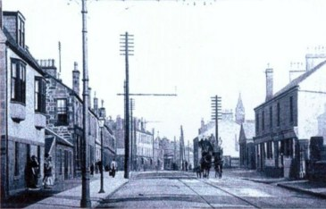 1910 Glasgow Road looking east