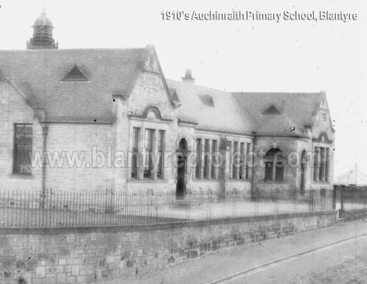 1910s Auchinraith Primary School wm