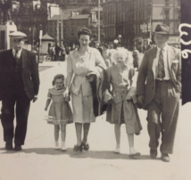 1951 William Paton and the Simm family
