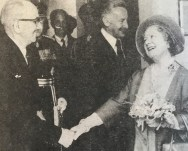 1977 Queen Mother opens Africa Pavilions