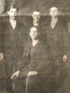 1914 Charles Frame, David Murdoch, Bobby Brown and Hugh Boyle WW1